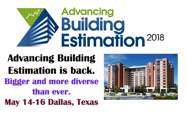 advancing building estimation